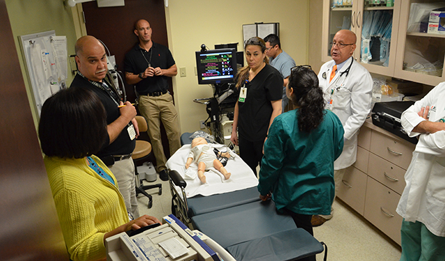 Gordon Center medical simulation
